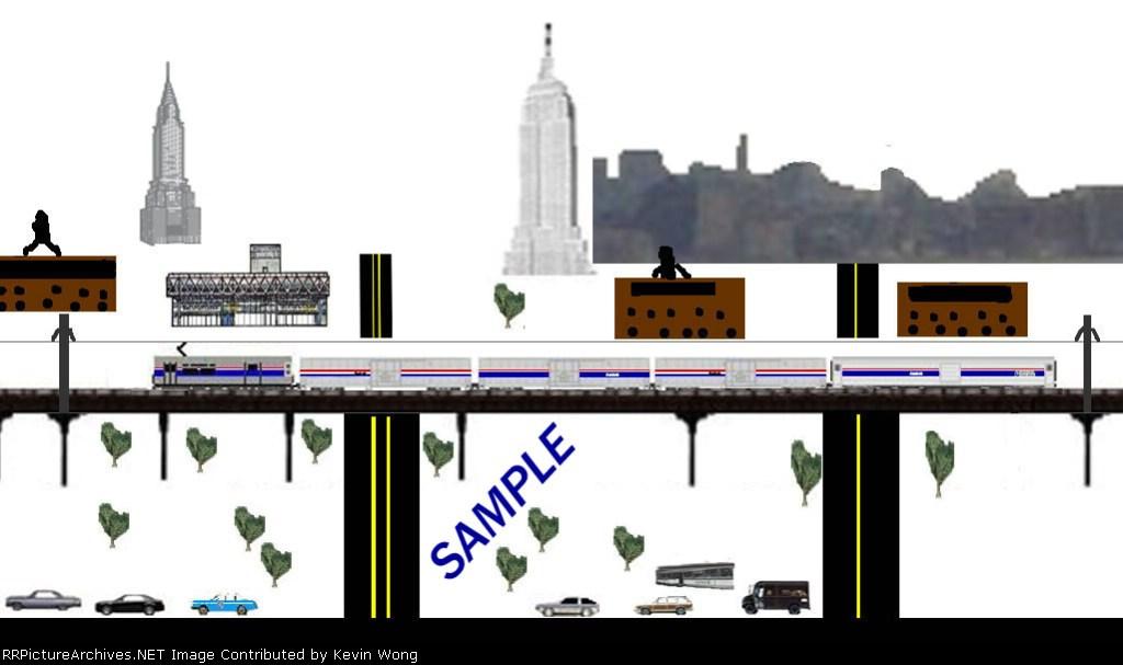 Sample scene #2: High Line, NYC