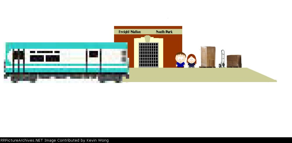 """""""South Park"""" Freight station"""