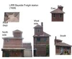 LIRR 1928 Bayside freight station model kit