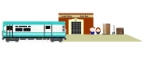 """South Park"" Freight station"
