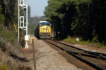 Q211 Heads into the siding at slighs for a meet with a northbound