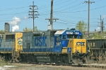 CSX 1507 at Clark Ave Yard