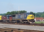 CSX Q417 holds the side