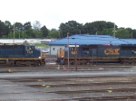 CSX CW40-8 and a SD70AC