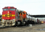 Southbound BNSF Manifest Train