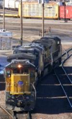 UP Locomotives at Neff Yard