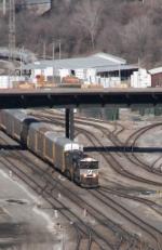Southbound NS Auto Train