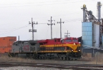 Northbound KCS Intermodal