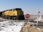 Westbound UP Empty Coal Train DPU