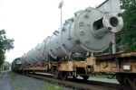 dimensional load heads north on 338