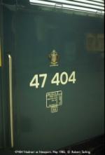 47404 'Hadrian'