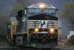 NS 7530 with UP assistance tows a coal drag east