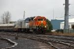 BNSF 2282 leads Amtrak Cascades #504