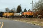 BNSF 5343 leads Amtrak Cascades #504