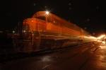 BNSF 2282 tails Amtrak Cascades #507