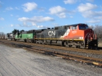 CN 2665 and BNSF 8113