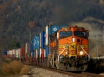 BNSF 4030 continues EB parade with double stacks