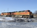 BNSF on Ice..well almost