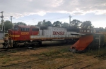 BNSF 8285 and CP 401015 Snow Plow