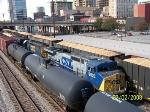 CSX train Q520 trying to sqeeze through