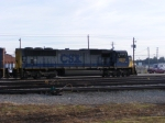 CSX 4539 sits in the yard