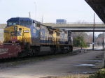 CSX Q198 leaves Augusta for Atlanta