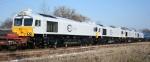 Four Euro Cargo Rail JT42CWR