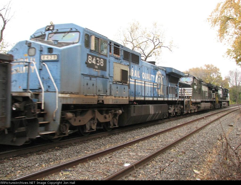 NS 8438 follows along