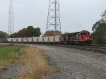 IC 6141 & CN 2306 round the curve eastward with M356