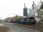 NS 8802 & 8330 bring 144 up off the Marion Branch