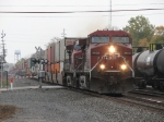 9608 charges west with 23T as it overtakes 144