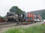 NS 9779 & 9702 rolling through CP427 with 23N