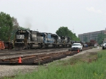 Bound for BNSF at Streator, 31K rolls through CP437 on the Chicago Line
