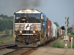 NS 2623 puts out some smoke as it accelerates west with 33G