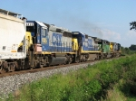 CSX 6135 & 7617 trailing along
