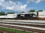 NS 9270 heads west with 267