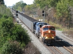 BNSF 5876 leads 416 east through CP360