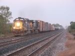 Q324 pulls east away from Garrett