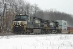 Westbound AP Moeller train