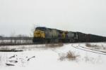 CSX 638 is now in coke train service