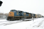 CSX 4785 heads for warmer climate