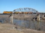 Verdigris river bridge