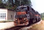 MEC 310 leads a freight