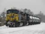 CSX 22 & 8594 wait short of Seymour with Q326-04