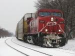 CP 8507 rolls towards Wyoming Yard with X500-02