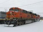 BNSF 6071 & 9135