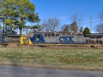 CSX 129 at Shelby Park