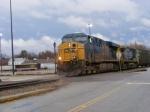 CSX 5440 departs Augusta