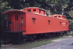 INTERSTATE RR Wood Cabooses.
