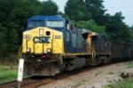 empty wateree train heads into devine jct
